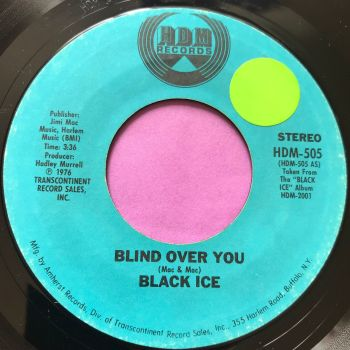 Black Ice-Blind over you-HDM stkr E+