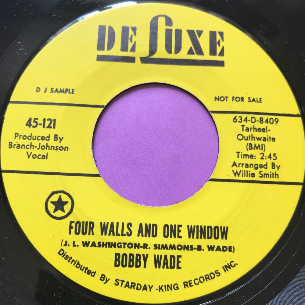 Bobby Wade-Four walls and one window-DeLuxe E+