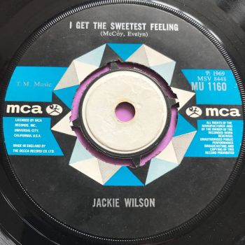 Jackie Wilson-I get the sweetest feeling-UK MCA E