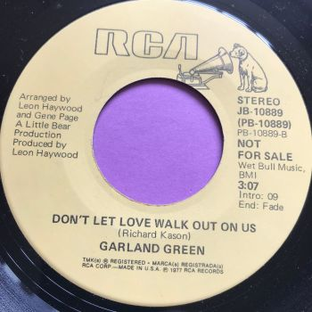 Garland Green-Don't let walk out on us-RCA E+