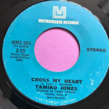 Tamiko Jones-Cross my heart-metromedia E+