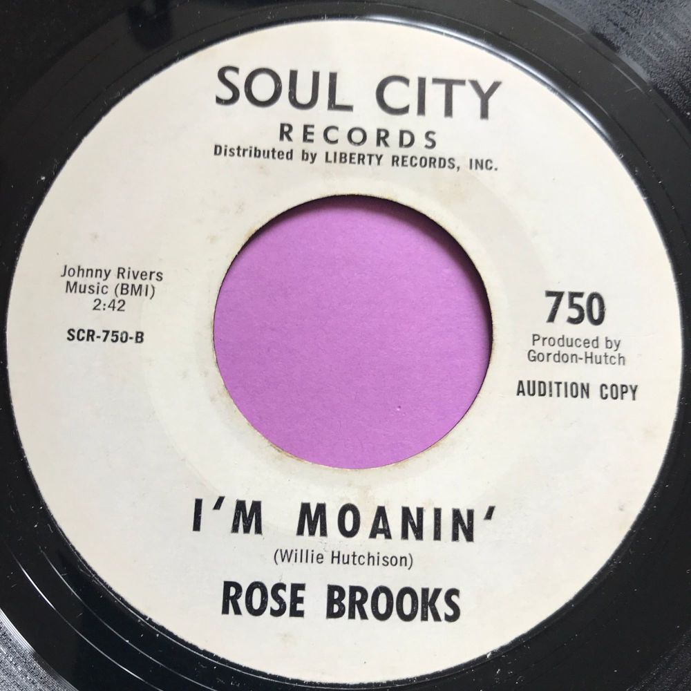 Rose Brooks-I'm moanin'-Soul City WD E+
