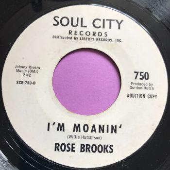 Rose Brooks-I'm moanin'-Soul City WD E+