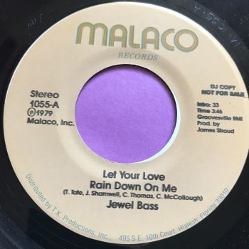 Jewel Bass-Let your love rain down on me-Malaco Demo E+