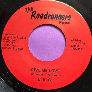 E.K.G-Give me love-Roadrunners E+