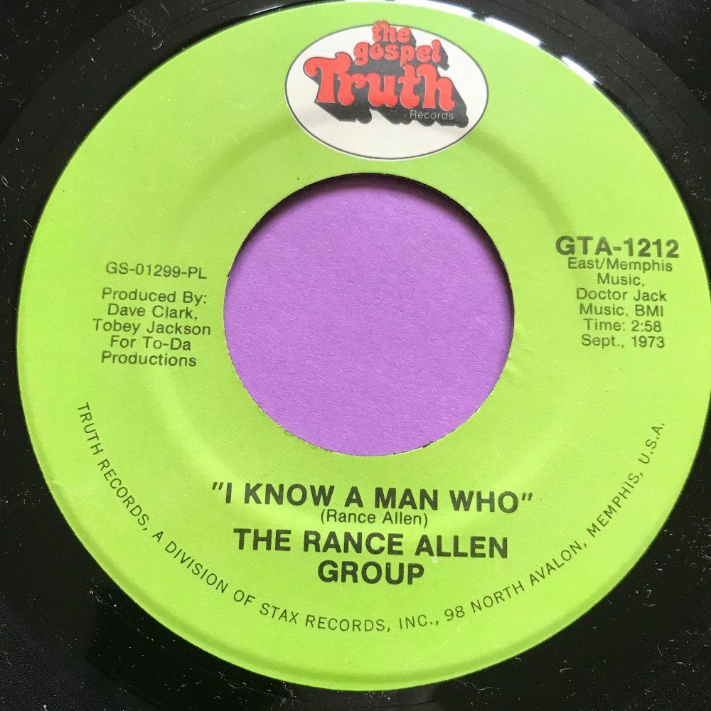 Rance Allen-I know a man who-Gospel Truth E+