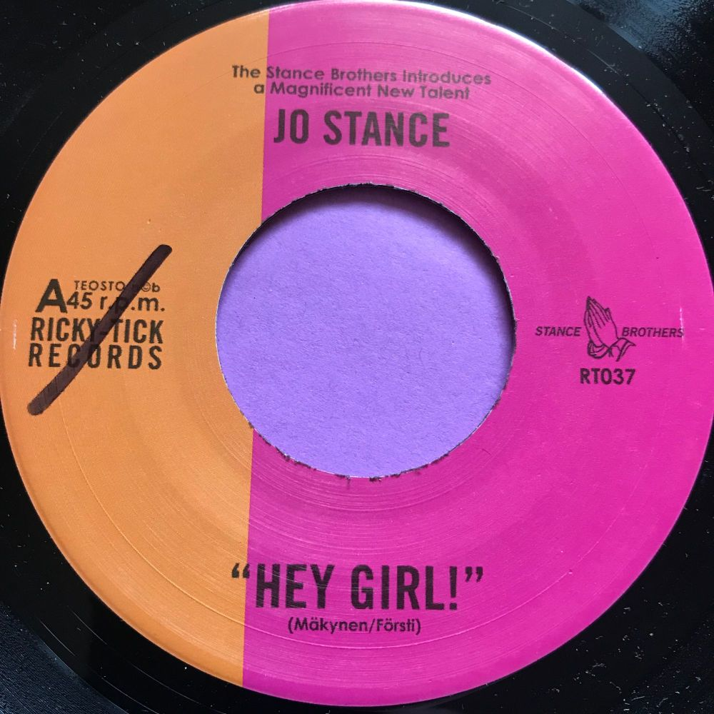Jo Stance-Hey girl-Rickystick E+