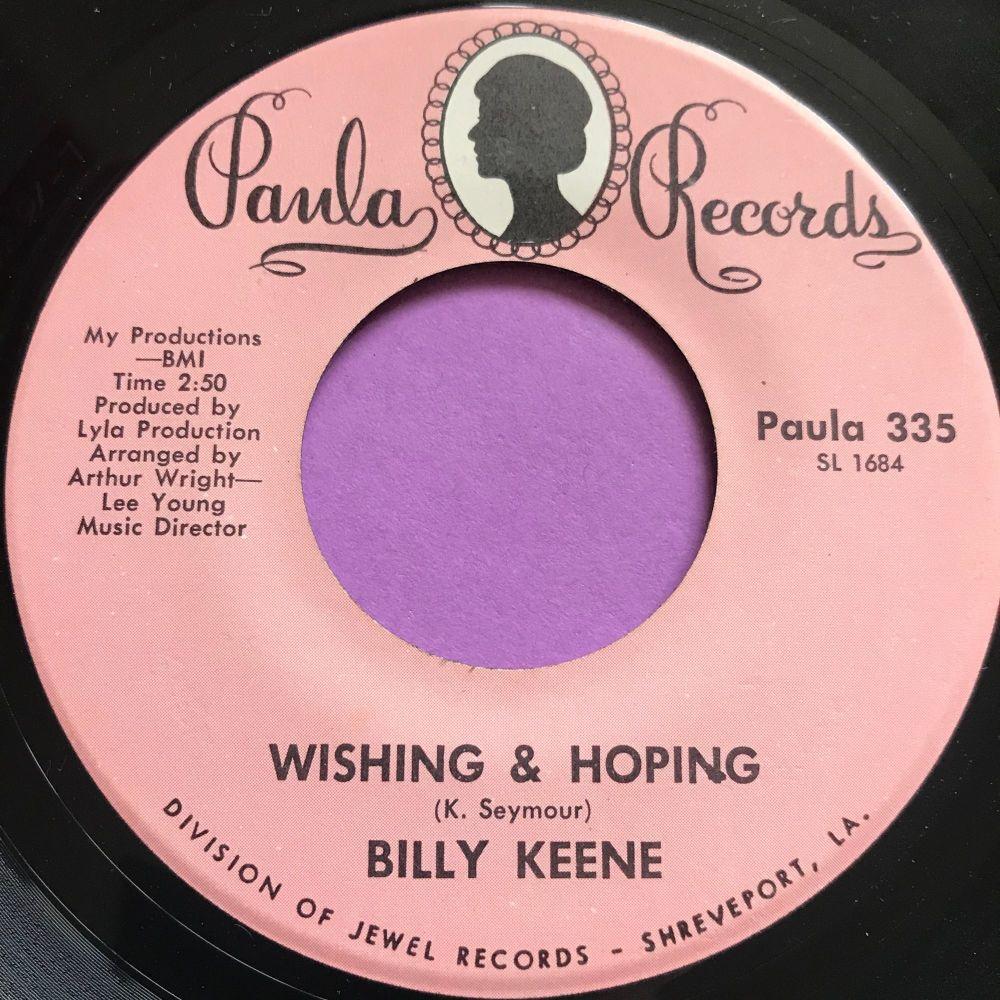 Billy Keene-Wishing & Hoping-Paula E+