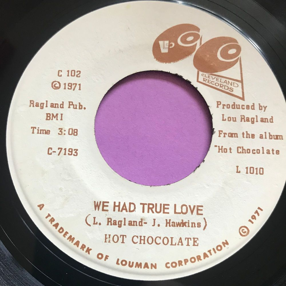 Hot Chocolate-We had true love-Cleveland E+