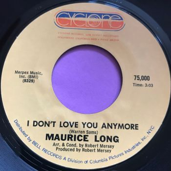 Maurice Long-I don't love you anymore-Cyclone E+
