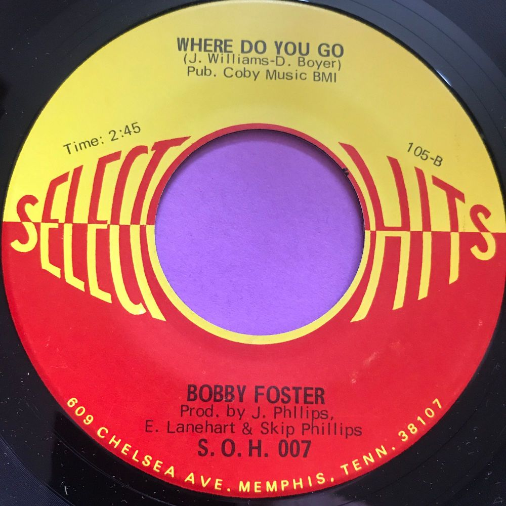 Bobby Foster-Where do you go-Select hits M-