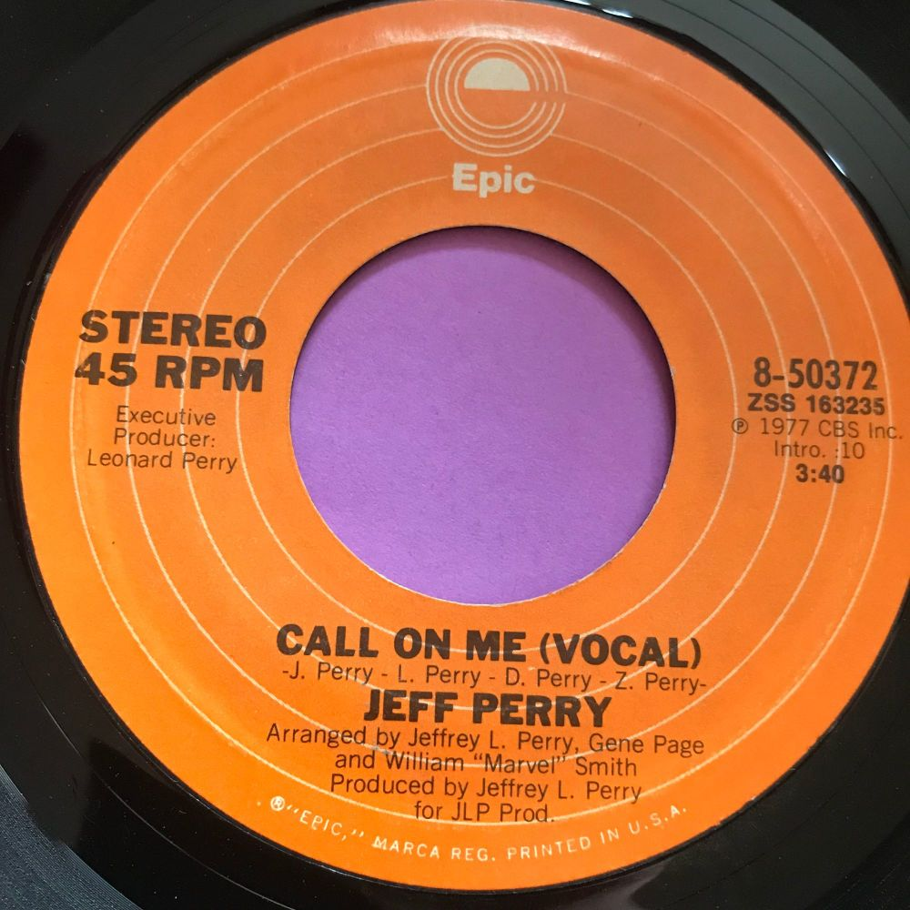 Jeff Perry-Call on me-Epic E+