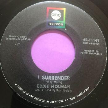 Eddie Holman-I surrender-ABC E+