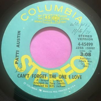 Patti Austin-Can't forget the one I love-Columbia Demo wol E+