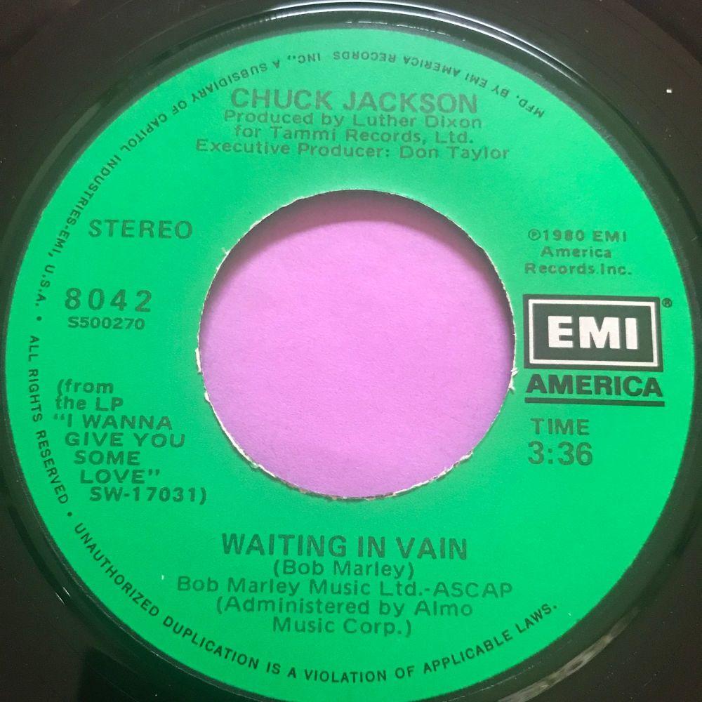 Chuck Jackson-Waiting in vain-EMI E+