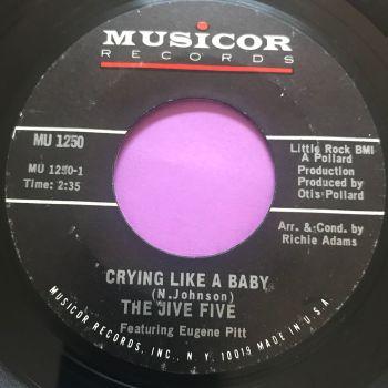 Jive Five-Crying like a baby-Musicor E+