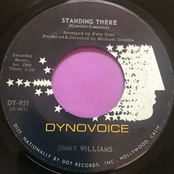 Jimmy Williams-Standing there-Dynavoice E+