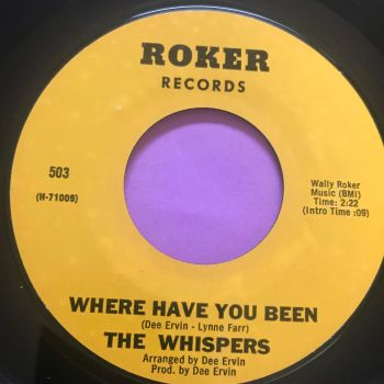 Whispers-Where have you been/ People in a hurry-Roker E+