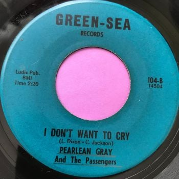 Pearlean Gray-I don't want to cry-Green-Sea E