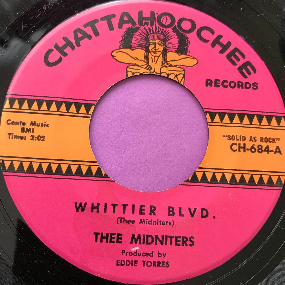 Thee Midniters-Whittier Blvd-Chatahoochee E+