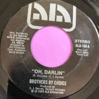 Brothers by choice-Oh darlin'-Ala E+