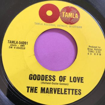 Marvelettes-Goddess of love-Tamla E+