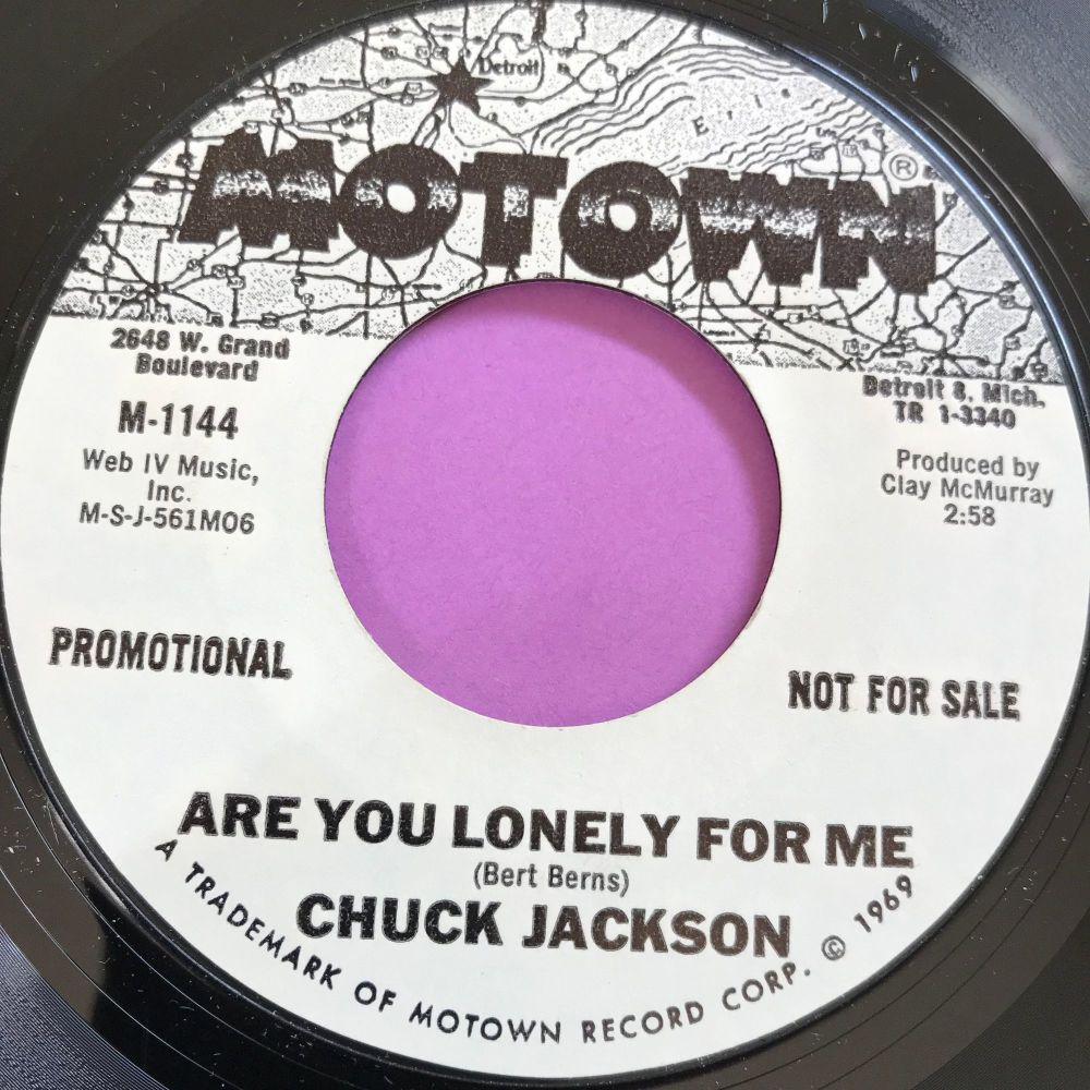 Chuck Jackson-Your wonderful love/Are you lonely for me-Motown WD E+