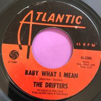Drifters-Baby what I mean-Atlantic E+