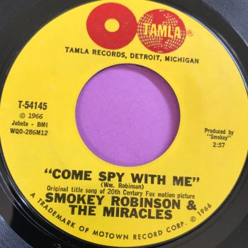 Miracles-Come spy with me-Tamla E+