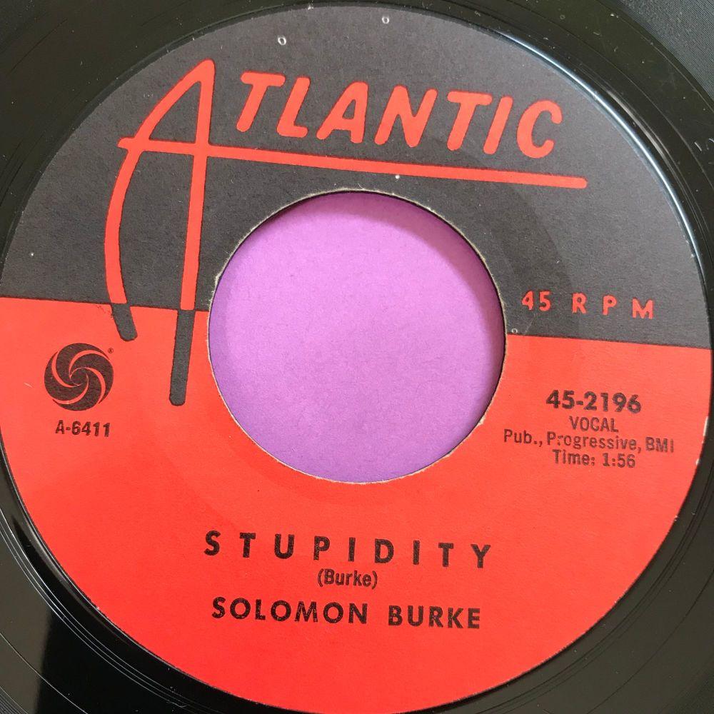 Soloman Burke-Stupidity-Atlantic E+
