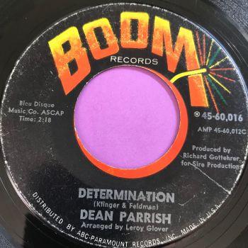 Dean Parrish-Determination-Boom vg+