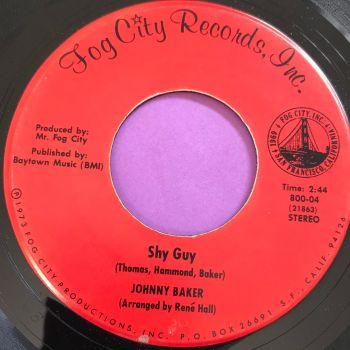 Johnny Baker-Shy guy-Fog City E+