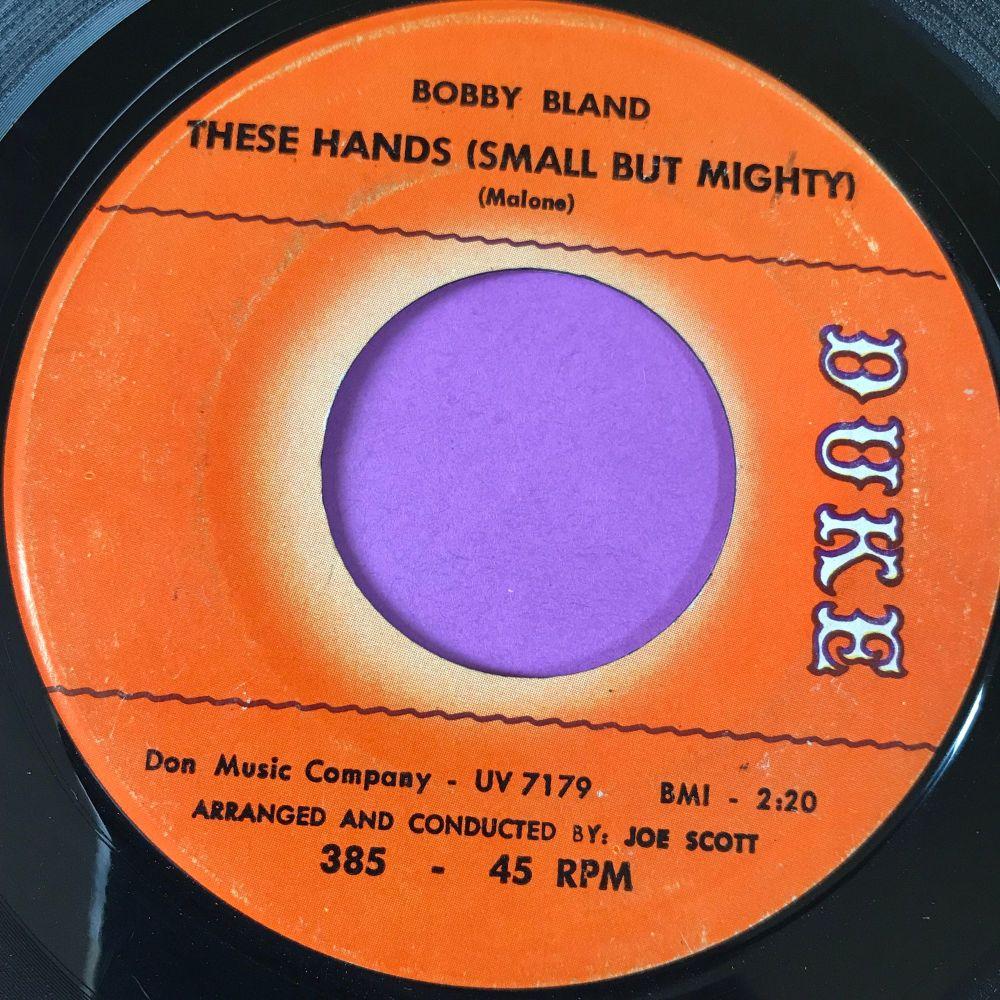 Bobby Bland-These hands-Duke E
