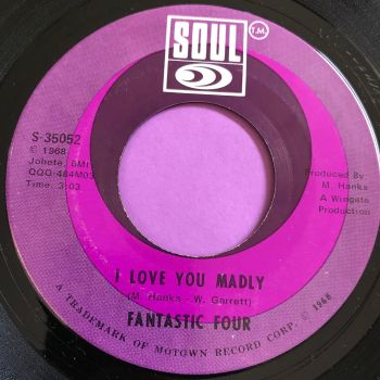 Fantastic Four-I love you madly-Soul E+
