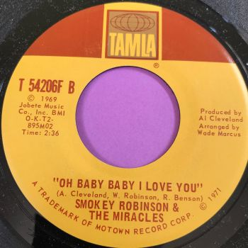 Miracles-Oh baby baby I love you-Tamla M-