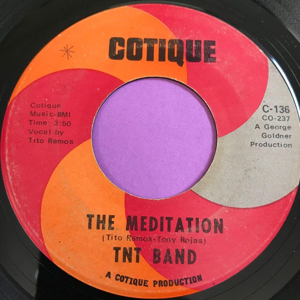 TNT Band-The meditation-Cotique vg+