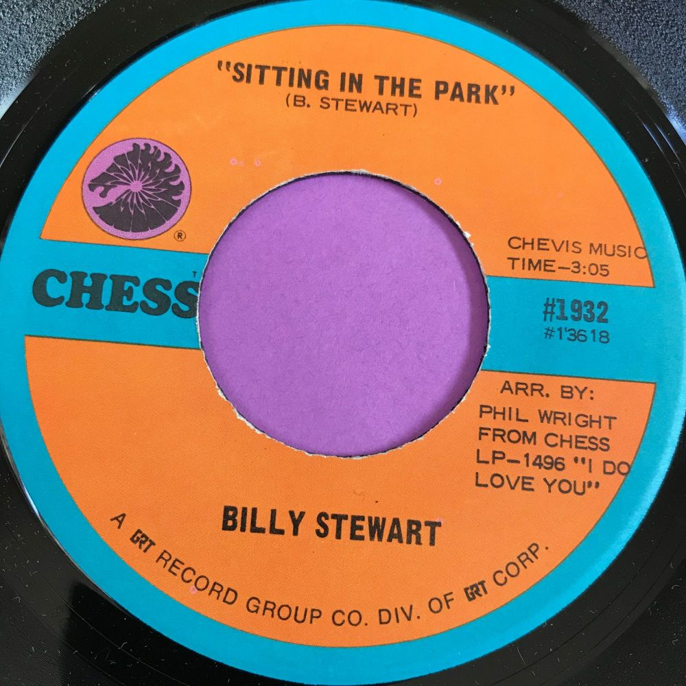 Billy Stewart-Sitting in the park-Chess E+