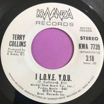Terry Collins-I L.O.V.E Y.O.U-Kwanza WD M-