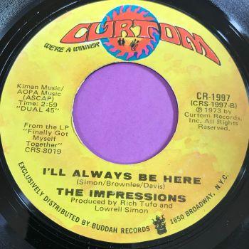 Impressions-I'll always be here-Curtom E+