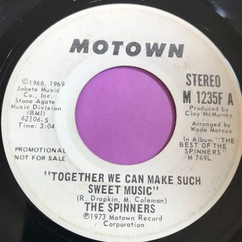 Spinners-Together we can make such sweet music-Motown WD E