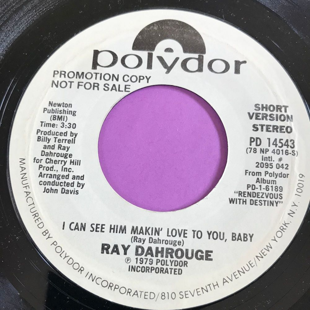 Ray Dahrouge-I can see him loving you-Polydor WD E+