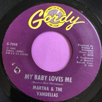 Martha Reeves-My baby loves me-Gordy E+