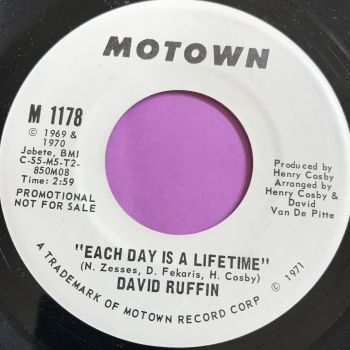 David Ruffin-Each day is a lifetime-Motown WD M-