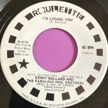 Kenny Ballad-I'm losing you-Roulette E+