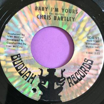 Chris Bartley-Baby I'm yours-Buddah E+