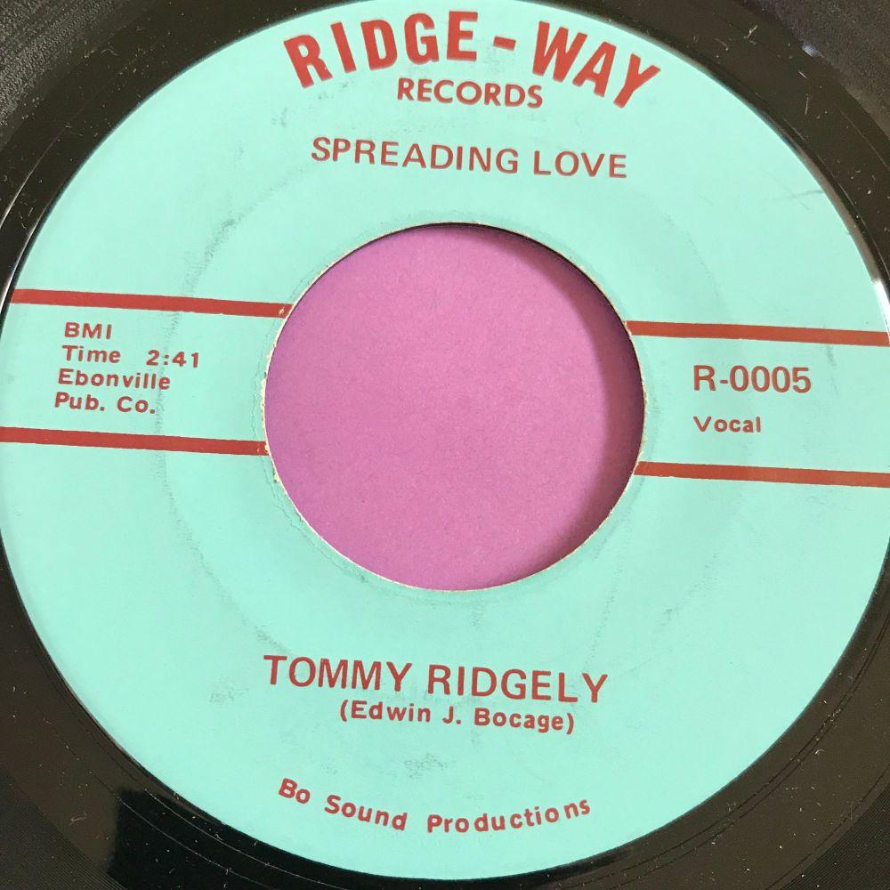 Tommy Ridgely-Spreading love-Ridge-way M-