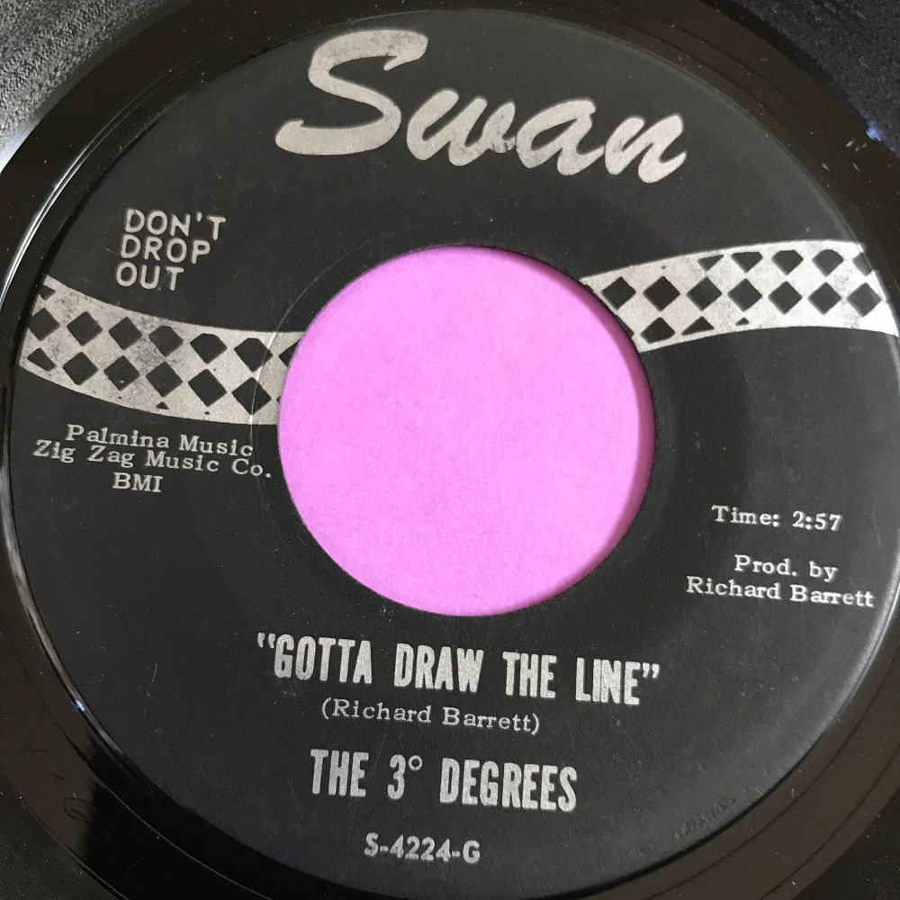 3 Degrees-Gotta draw the line-Swan E+