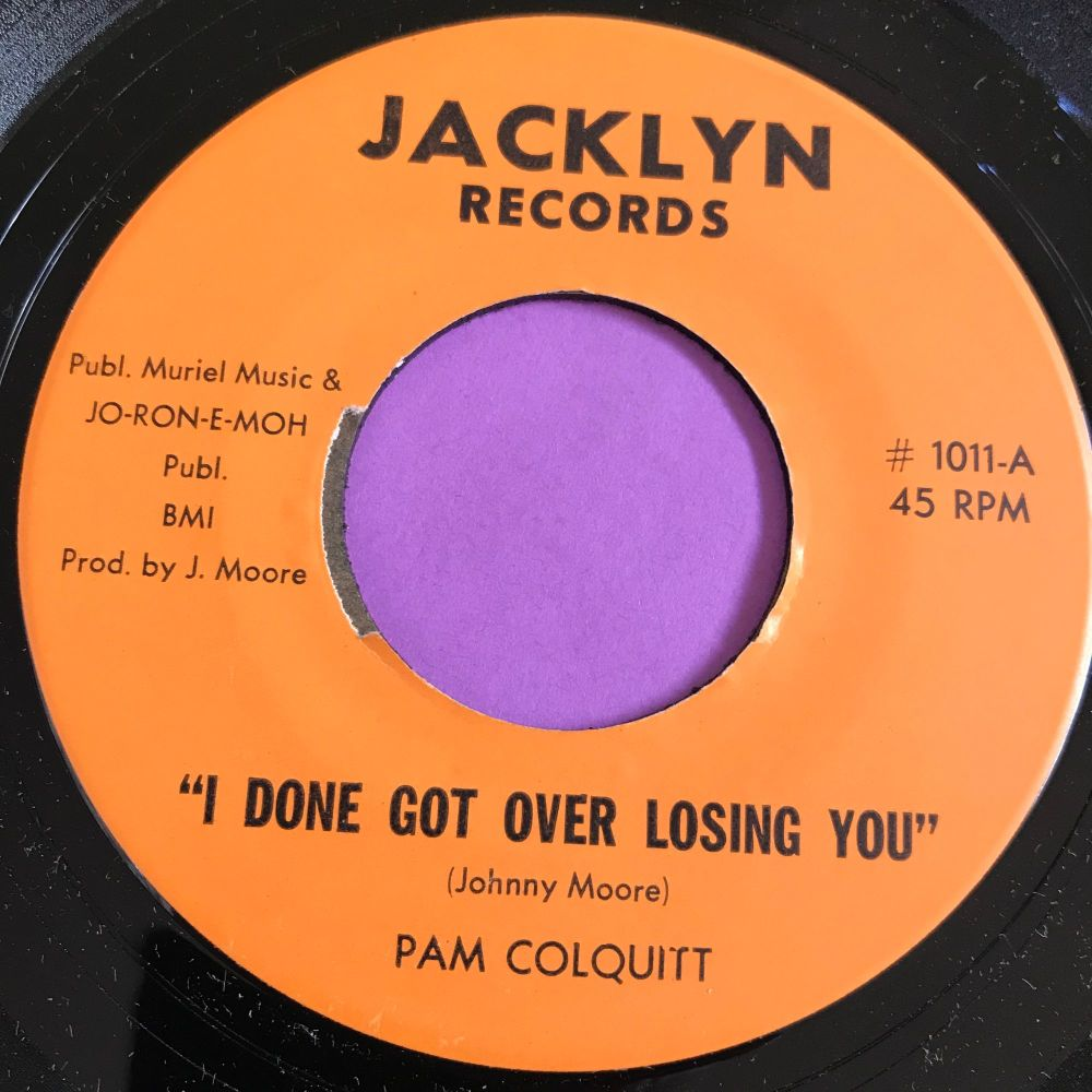 Pam Colquitt-I done got over losing you-Jacklyn E+