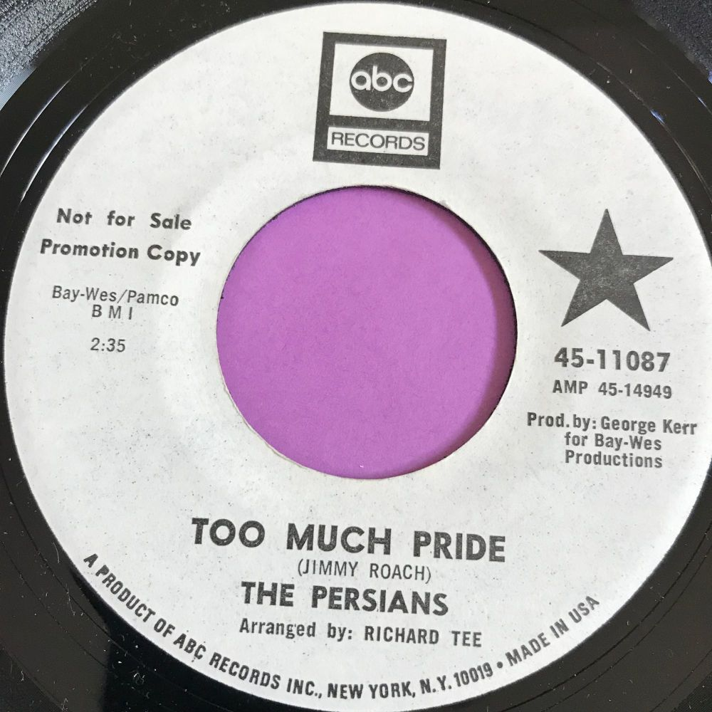 Persians-Too much pride-ABC WD E+