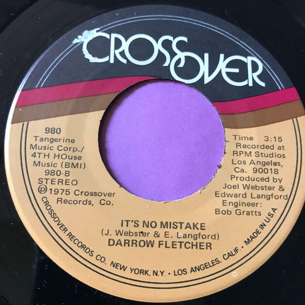Darrow Fletcher-It's no mistake-Crossover M-